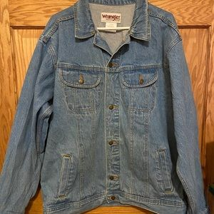 Wrangler Jean Button Up Jean Jacket XL